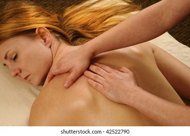 Spa Massage Shoulders and Back