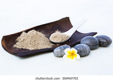 Spa Mud for face and body treatment