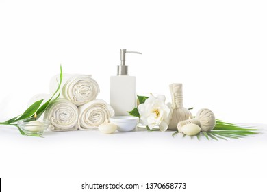 Spa natural products concept,