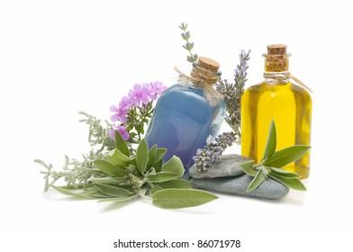 spa oils and perfumes