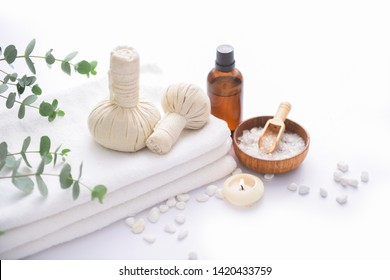 Spa products concept, spa background