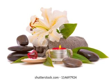 Spa still life - Shutterstock ID 114697924