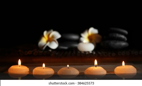 spa still life stones candles flowers stock photo edit now