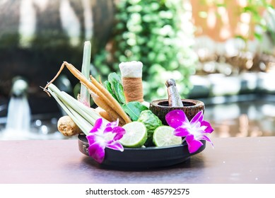 Spa treatment and massage, Thailand, soft and select focus