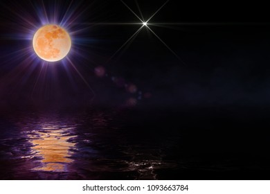 the space moon