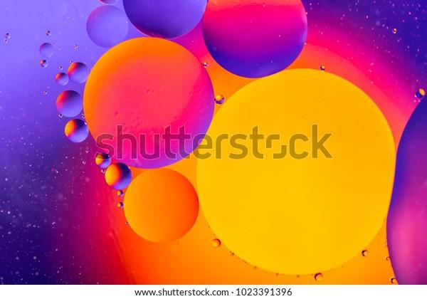 空间或行星宇宙宇宙抽象背景. 抽象分子原子算法. 空气或分子的微距镜头。 抽象空间背景。 生物学、植物学或生物学抽象背景