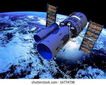 Space Satellite Telescope