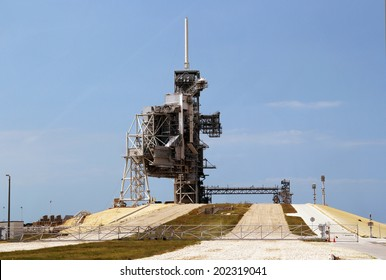 Spaceship launchpad, cape Canaveral
