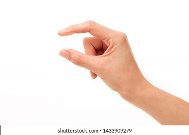 Spacing between fingers on white backgrounds. - Shutterstock ID 1433909279