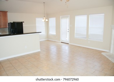Spacious Living Area with Tile Flooring