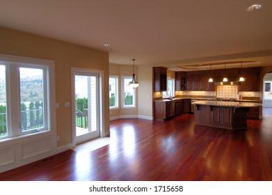 spacious luxury interior