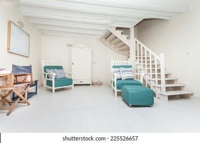 spacious and modern living room