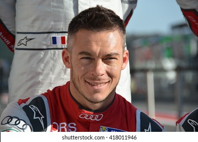 SPA-FRANCORCHAMPS, BELGIUM - MAY 4: German race car driver Andre Lotterer (Audi Sport Team Joest) during round 2 of the FIA World Endurance Championship on May 4, 2016 at Spa-Francorchamps, Belgium.
