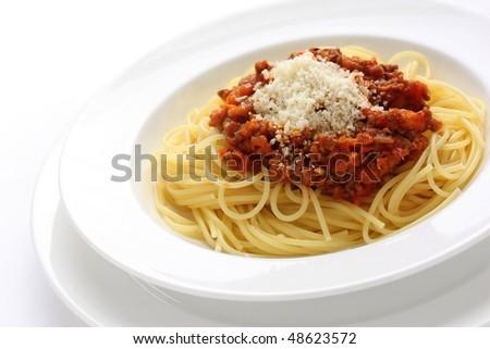 Spaghetti Alla Bolognese Stock Photo Edit Now 48623572 Shutterstock