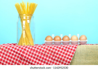 Spaghetti and eggs