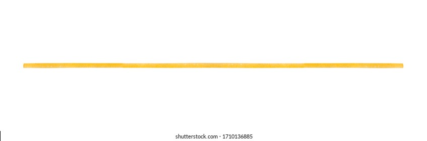 Spaghetti isolated on white background. clipping paths.