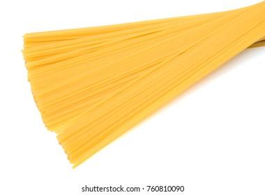 spaghetti isolated on white background