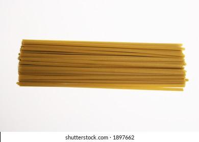 Spaghetti Pasta on a white background