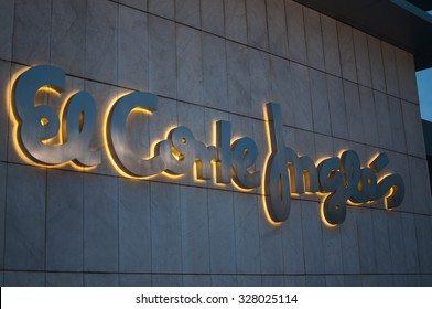 SPAIN - 2015 - El Corte Ingles is a distribution group of Spain composed of companies from different formats, being the main department stores.
