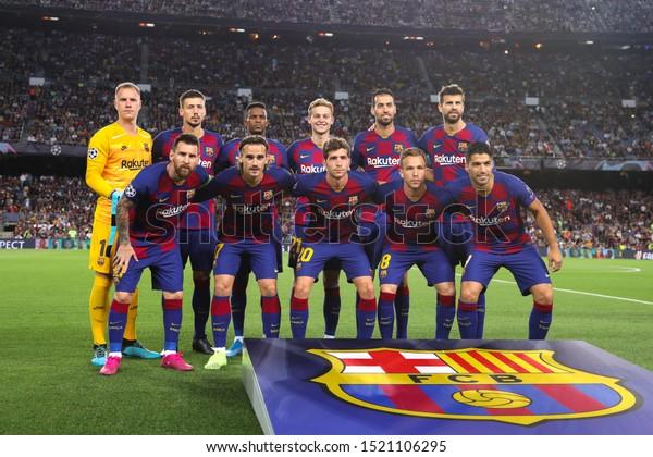 Spain Barcelona October 2 2019 Fc Stock Photo Edit Now 1521106295