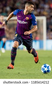 SPAIN, BARCELONA - September 18 2018: Luis Suarez during FC Barcelona - PSV