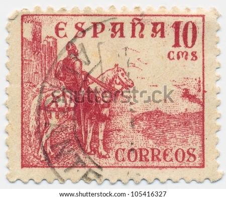 SPAIN CIRCA 1937 Stamp Printed Spain Stock Photo Edit Now