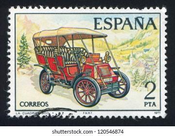 SPAIN - CIRCA 1977: stamp printed by Spain, shows La Cuadra, circa 1977
