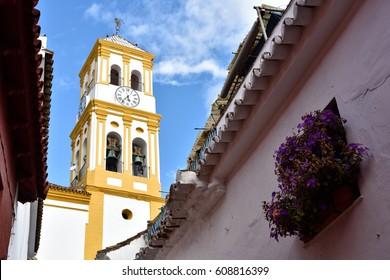 Spain, Marbella Old Town - Iglesia de Nuestra Senora de la Encarnacion