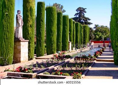 Spain. Mauritanian garden  in Cordoba
