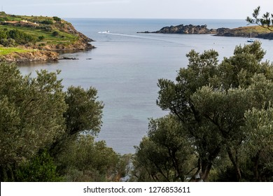 Spain, Port Lligat, 27 December , 2018, Port Lligat, small Mediterranean village. overlooking the bay of Cap de Creus, and home to the Spanish , surrealist artist Salvador Dalí for almost three decade