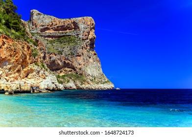 Spain's best wild beach, Moraira Cove, Alicante, Cala del Moraig