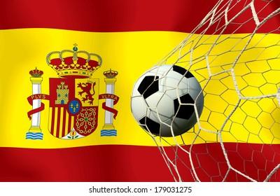 Span soccer ball
