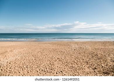 Spanish beach, Alicante (horizontal).