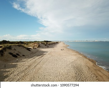 Spanish beach and dunes