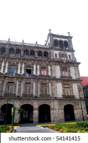 Spanish building in Mexico