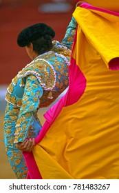 The Spanish bullfight show