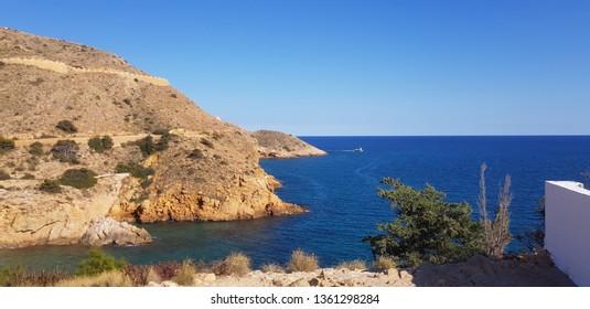 Spanish coast line costa blanca
