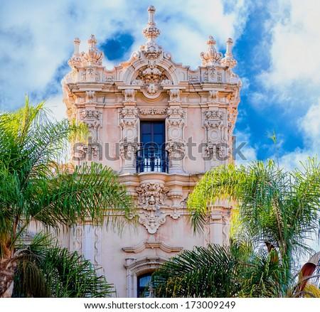 Spanish Colonial Architecture Balboa Park San Stock Photo Edit Now