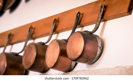 Spanish copper pats and pots