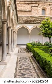 Spanish, European Open Public Courtyard