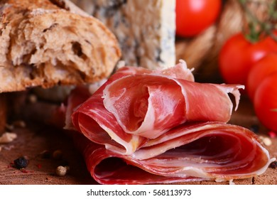 Spanish food hamon