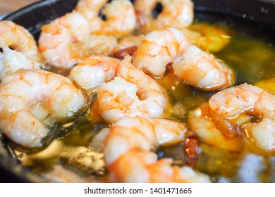 Spanish garlic shrimp tapas, Gambas al Ajillo