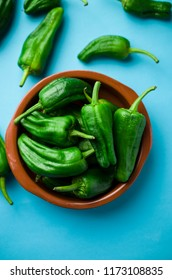 Spanish green peppers, Padron tapas