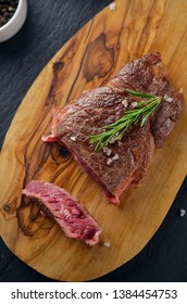 Spanish grilled steak with herbs