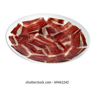 Spanish ham dish