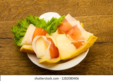 Spanish Hamon with melon