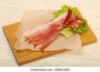 Spanish Hamon with salad