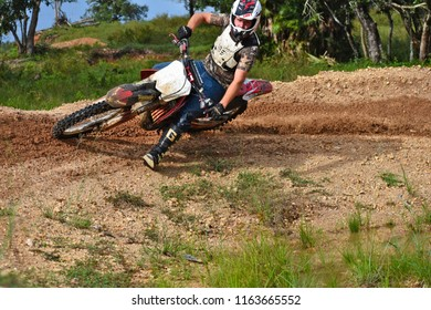 Spanish lookout, Belize February 18, 2018 John Wayne speeding around a curve on his own track