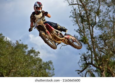 Spanish lookout, Belize February 18, 2018 John Wayne Friesen whipping his bike through the air with great skill