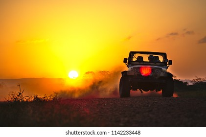 Jeep Sunset Hd Stock Images Shutterstock